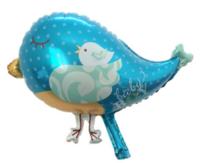 Foliopallo Baby Boy Sininen lintu 46x35cm