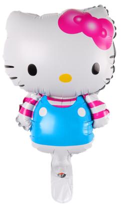 Foliopallo Hello Kitty sininen 35x23cm