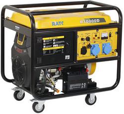 Aggregaatti Rato R10000D, 12V/230V, 10kW, sähköstartti, bensiini