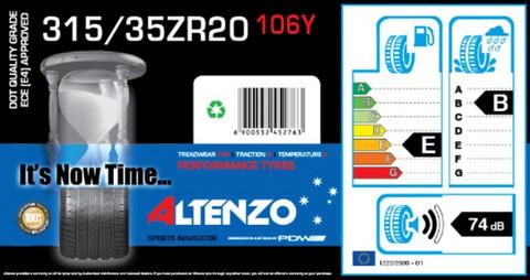 Altenzo Sports Navigator 315/35ZR20 106Y kesärengas
