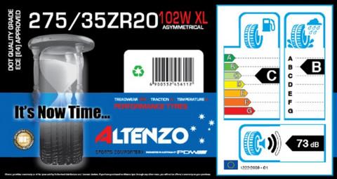 Altenzo Sports Comforter+ 275/35ZR20 102W/XL kesärengas