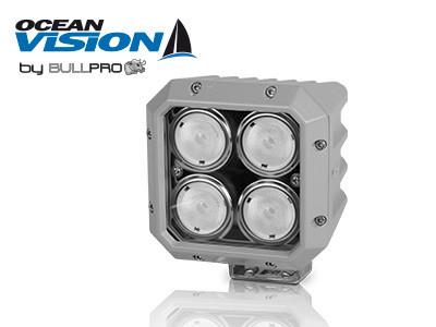 Ocean Vision LED-työvalo 80W, 12-60V, 7200lm, 20ast