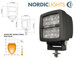 Nordic Lights LED-työvalo 35W, 12-24V