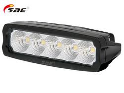 SAE LED-työvalo, 25W, 9-36V, 2250lm, musta