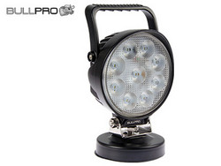 Bullpro LED-työvalo magneetilla 27W, 9-36W, 2250lm