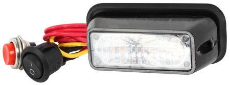 CRX LED Välähdysvalo 88mm, 12/24V