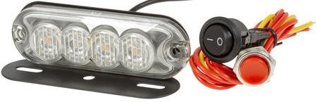 CRX LED Välähdysvalo 98mm, 12/24V