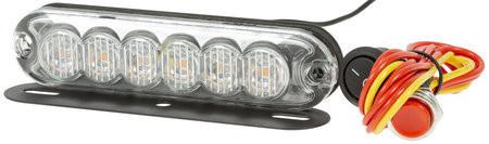 CRX LED Välähdysvalo 130mm, 12/24V