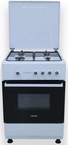 Kaasuliesi 60x60cm Frezzer FF6402 valkoinen