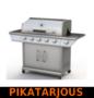 Kaasugrilli Royal Gourmet Premium 51, 5 poltinta + sivukeitin - PIKATARJOUS!