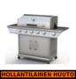 Kaasugrilli Royal Gourmet Premium 51, 5 poltinta + sivukeitin - HOLLANTILAINEN HUUTOKAUPPA!