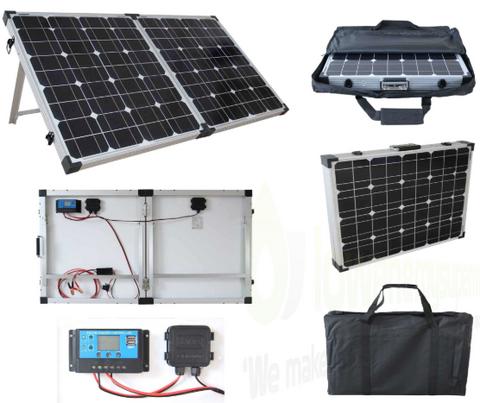 Brightsolar 200W kannettava ja taitettava aurinkopaneeli, sis säätimen