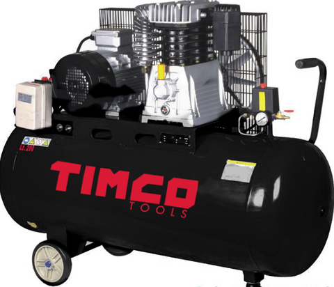 Timco 4HP 200L kompressori hihnaveto