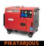 Timco TSE5000SDG, 4,5kVA, 230V/400V diesel generaattori - PIKATARJOUS!