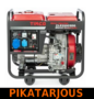 Timco CLE5500SDG, 5kVA, 230V diesel generaattori - PIKATARJOUS!