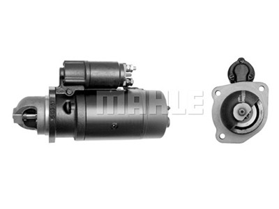 Starttimoottori Mahle IS0491 (Iveco, K.H.D. Liebherr, Magirus-Deutz, Poclain, Volvo BM)