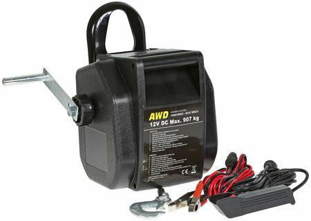 AWD Venevinssi 12V, 907kg, kauko-ohjain