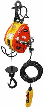 KIO Vaijerinostotalja 230V, 80kg, 23m