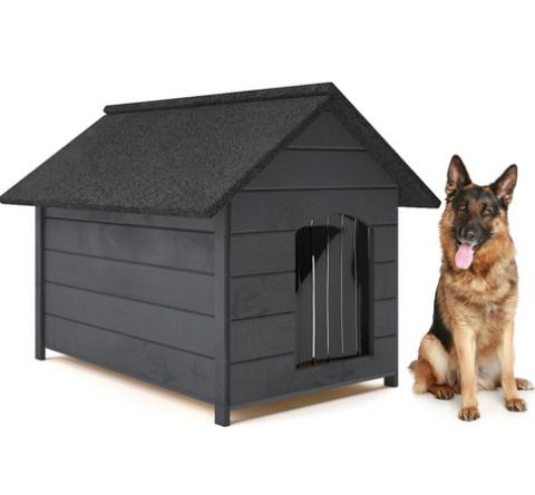 Wuffe XL eristetty koirankoppi, harmaa