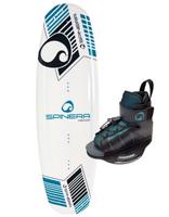 Spinera Good Lines 140 Wakeboard säädettävillä siteillä
