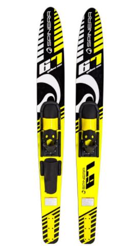 Spinera Combo Ski Yellow Sea 67'' vesisukset