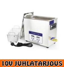 Ultraäänipesuri 6,5L Timco INOX (myös teollisuuskäyttöön) - 10V JUHLATARJOUS!