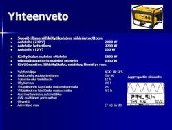 Loppu! Meister R2200 Aggregaatti 2200W, Bensiini