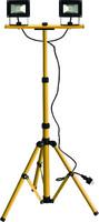 LED Energie 2x10W ledtyövalaisin, Tripod-jalusta