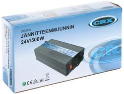 Siniaaltoinvertteri CRX, 500W/1000W 24V
