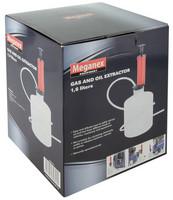 Öljyimurikannu Meganex 1,6L Käsikäyttöinen pumppu, 2x imuletku