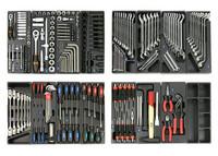 Työkaluvaunu työkaluilla 255-osaa, IKH