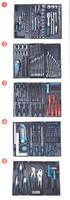 Työkaluvaunu työkaluilla 272-osaa, Meister Pro
