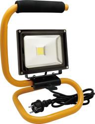 LED Energie 20W LED-työvalo, IP44, S-jalusta, 1.8m kumikaapeli+schuko