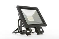 LED Energie Slim valonheitin liiketunnistimella 50W
