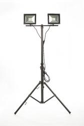 LED Energie Slim valonheitin 2x20W tripod jalustalla