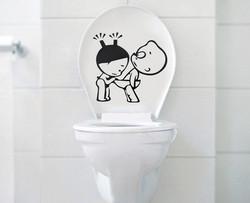 Sisustustarra WC Tirkistelijä