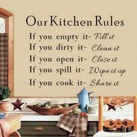 Sisustusteksti Our Kitchen Rules