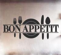 Sisustustarra Bon Appetit Black