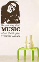 Sisustustarra No pain -Bob Marley
