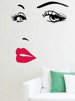 Sisustustarra Marilyn Monroe Red Lips