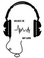 Sisustustarra Music Is My Life 2