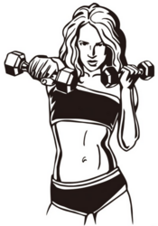 Sisustustarra Fitness Nainen