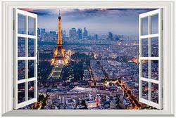 Sisustustarra Ikkuna Pariisiin