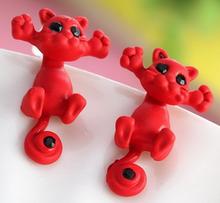 Kissa Korvakorut Punainen