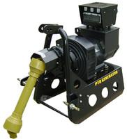 Loppu! Traktorigeneraattori JDP PTOG 24kW, 230V/400V (sisältää nivelakselin)