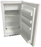 Kaasujääkaappi-pakastin Frezzer HR150GAS 131+12L, valkoinen
