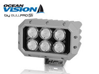 Loppu! Ocean Vision LED-työvalo 120W, 12-60V, 10800lm, 60ast