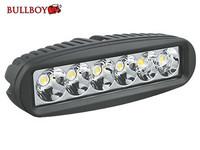 Bullboy LED-työvalo 18W, 9-32V, 1260lm, musta