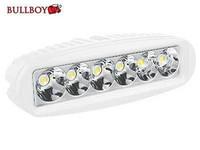 Bullboy LED-työvalo 18W, 9-32V, 1260lm, valkoinen