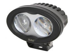 SAE LED-varoitusvalo, sininen, 6W, 9-110V